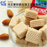 China Stainless Steel Full Automatic Square Wafer Biscuit Making Machine Price wholesale