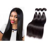 Buy cheap Comfortable 100 Brazilian Human Hair Bundles For Black Girls Customized Length from wholesalers