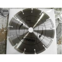 Buy cheap 200mm Laser Welded blade for Asphalt, with Key Slot from wholesalers