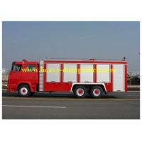 China Howo Fire Fighting Truck 6x4 double rows Cabin with warranty and spare parts wholesale