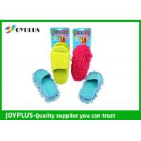 China 27X13cm Home Cleaning Tool Household Floor Cleaning Slippers / Chenille Mop Slippers wholesale