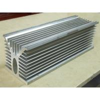 China 6061 Alloy CNC Milling Large Aluminium Extruded Heat Sink 300MM Width wholesale