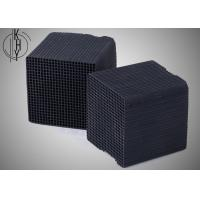 China Black KHY Activated Carbon Honeycomb For Chemical Industrial Exhaust Treatment wholesale