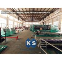 China Large Mesh Gabion Box Machine For Straight And Reverse Twisted Wire Mesh Machinery wholesale