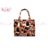 China Fashion Large Printed Reusable Shopping Bags Customized For Female wholesale