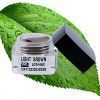 China Safety Semi Permanent Makeup Pigments 5ML Light  Brown  Staying Color Long wholesale