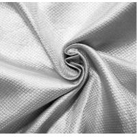 China 100%silver RF shielding silver fiber fabric for military tent anti-signal fabric wholesale