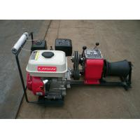 Compact Gasoline Powered Winch / Electric Cable Winch For Cranes