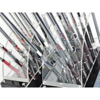 China 12 clubs 2 row acrylic clear golf club display stand wholesale