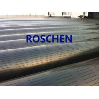 China Slotted Pipe , Carbon Steel Tube , Oil Screen Tube Control Sand Coring Drilling wholesale