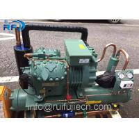 China R404 Refrigeration Condensing Unit / Bitzer 6FE-50Y Water Cooled Condenser Unit wholesale