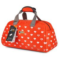 China Printed Custom Duffle Bags , Reusable Nylon Cloth Bag For Ladies wholesale