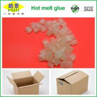 China Rubber Hot Melt Glue Packaging Granule ,  Packing Box Adhesive Non Toxic wholesale