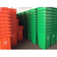 China 100 liter Plastic wheelie bin with 2 wheels wholesale