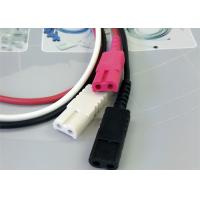 Quality 1M Length Patient Monitor Accessories , Monitor Connector Cable Solid Conductor for sale