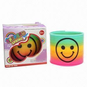 China Magic Rainbow Spring with 7.5 x 7.5 x 7.0cm Box Size wholesale