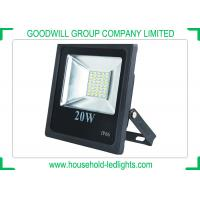 China 5730 SMD 20W Waterproof LED Flood Lights IP66 AC 220V For Playground And Garden wholesale