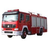 China 10CBM 4X2 290HP Fire Fighting Truck , Agricultural Fire Engine Truck For Landscaping wholesale
