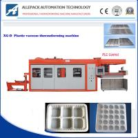 China Egg Tray Plastic Thermoforming Machine Servo Drive For Pp / Pvc / Pe Container on sale
