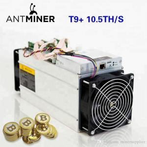 China Bitcoin Farming Machine Bitmain Antminer T9+ (10.5Th) From SHA-256 Algorithm wholesale