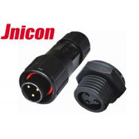 China 300V 10A Waterproof Small Circular Connectors M16 Sealed Against Dust And Fluid wholesale