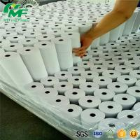 China Any Size / Color Thermal Paper Rolls 350S Smothness For Cash Register / ATM Machines wholesale