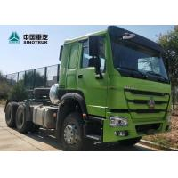 Buy cheap HOWO Drawing Head Tractor Truck LHD 6x4 371HP Single Berth Cabin 10wheels from wholesalers