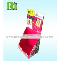 China Eco Friendly Cardboard Display Stands Advertising Corrugated Paper wholesale