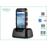 China Barcode Scanner phone Android 5.1.1 Rugged 2G 16GB 5inch Phone with LF 125KHz wholesale