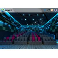 China Unprecedented Entertainment 4D Movie Theater With Electronic Motion Seats wholesale