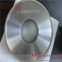 China 1A1 200*40*76*5 Metal bond Grinding wheels for magnetic materials ALisa@moresuperhard.com wholesale