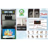 China Digital Automatic Ice Cream Machine Twist Feature , Compact Design wholesale