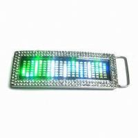 China Top quality Scrolling LED message belt buckle wholesale