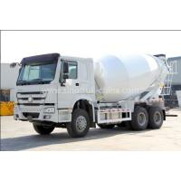 China 12cbm Tanker Cement Mixer Lorry High Collision Resistance With Hydraulic System wholesale