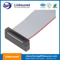 China LINKSUNET 1.0MM Pitch Flat Ribbon Cable Connector 300V UL2651 - 28AWG wholesale