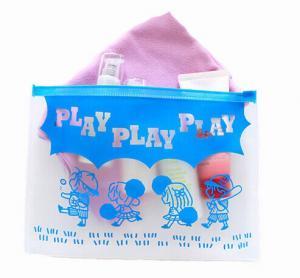 China BPA - Free EVA Reusable Ziplock Bags Slider Bag Easy Opening With Gusset Bottom on sale