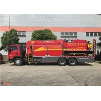 China Manual 12 Transmission Fire Fighting Truck Flood Drainage System Function wholesale