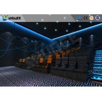 China Entertainment 4D Movie Theater With Special Effect Suitable For 15~50 Groups wholesale