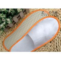 Quality Non Woven Fabric Hotel Disposable Slippers Plain Style Multi Color for sale