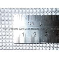 China High Tensile Stainless Steel Wire 4 Mesh Square Wire Mesh Screen Abrasion Resistance on sale