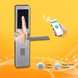 China Keyless Password Door Lock Touch screen first-rate long warranty contactlessly mifare card door lock on sale