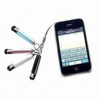 Quality Promotional Gift Touch Pens for iPhone, ODM Services Available for sale