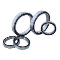 China Real Slim Sealed Chrome Steel Ball Bearing Thin Section With Plastic Cage wholesale