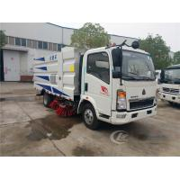 China City Cleaning Machine Road Sweeper Truck Howo 4 X 2 115HP 5CBM Vacuum Type on sale