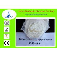 China 1255-49-8 Testosterone / Testosterone Phenylpropionate Raw Hormone Powders wholesale