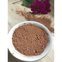 China NF02 Dark Brown Natural Low Fat Cocoa Powder 4%-8% Fat Content , 5.0-5.8 PH Value wholesale