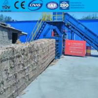China Automatic Hydraulic Waste Carton Recycling Baler Machine with CE TUV wholesale