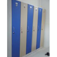 China 1 Tier Beige Blue Employee Storage Lockers Strong / Durable For Hospitals wholesale