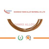 Quality Single Core Thermocouple Cable Chromel Alumel Thermocouple Fiberglass Wire Type k for sale