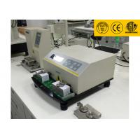 China LCD Displays ASTM D5264 Ink Rub Test Machine , Professional Abrasion Testing Machine wholesale
